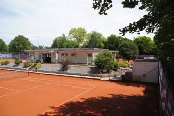 Tennis beim TSV Königsbrunn - Tennisplatz